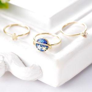Universe Midi Ring Set